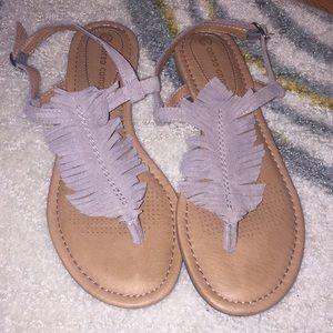 Girls darling sandals